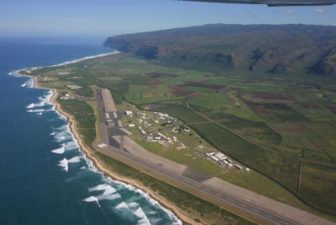 Barking Sands Missile Range Navy Base In Kekaha Hi