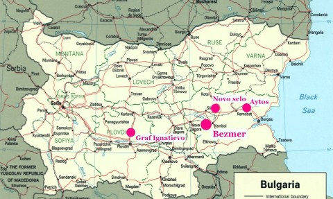 Bezmer Air Base Bulgaria Base Map