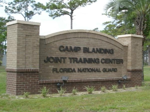 Camp Blanding Sign