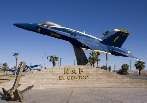 El Centro Entrance