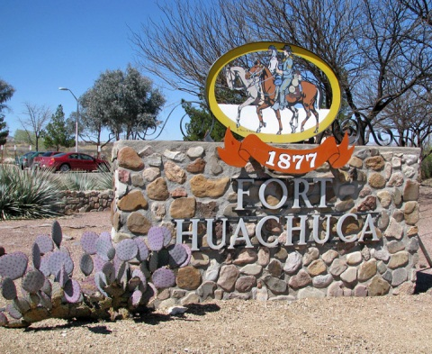 Fort Huachuca Sign