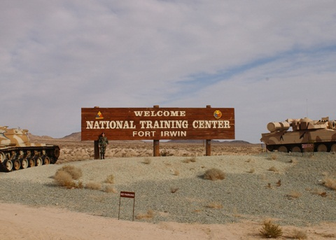 Fort Irwin Sign