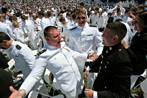 Navy Graduates