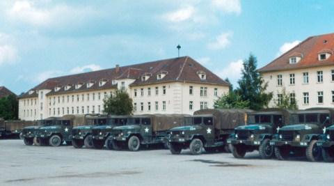 Căn cứ Panzer Kaserne. Ảnh: MILITARY BASES