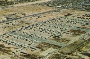 Fort Bliss Army Base in El Paso, TX