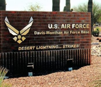 Davis Monthan Air Force Base in Tucson, AZ