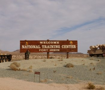 Fort Irwin Army Base in Barstow, CA