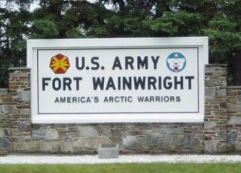 Fort Wainwright Army Base in Fairbanks, AK