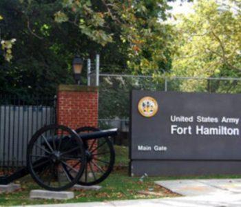 Fort Hamilton Army Base in Brooklyn, NY