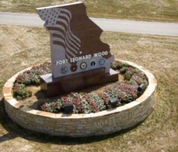 Fort Leonard Wood Army Base in Pulaski, MO