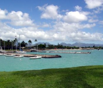 Hickam Air Force Base in Honolulu, HI