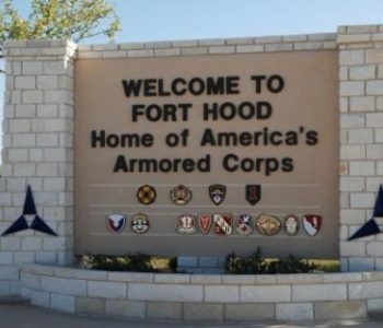 Fort Hood Army Base in Killeen, TX