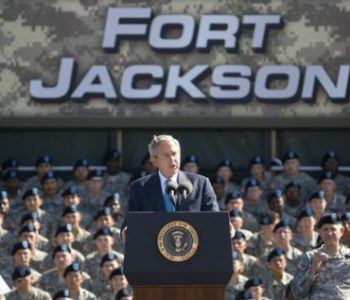 Fort Jackson Army Base in Columbia, SC