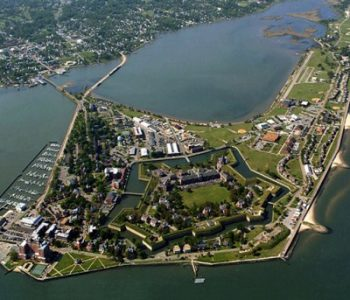 Fort Monroe Army Base in Hampton, VA