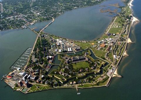 Fort Monroe Army Base In Hampton Va