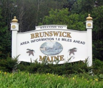 NAS Brunswick Navy Base in Brunswick, ME