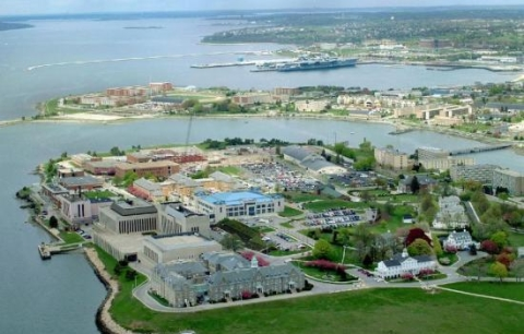 Photos of NS Newport Naval Base in Newport, RI