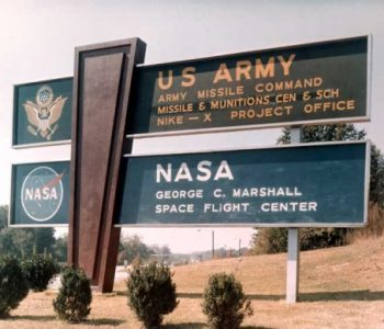 Redstone Arsenal Army Base in Madison, AL