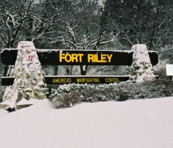 Fort Riley Army Base in Riley, KS