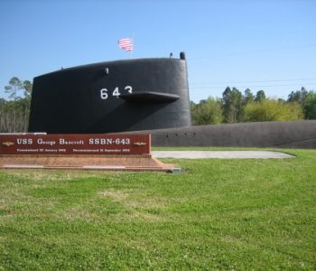 Kings Bay Submarine Navy Base in Kings Bay, GA
