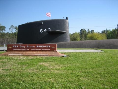 Kings Bay Submarine Navy Base In Kings Bay Ga