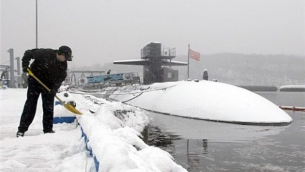 Naval Submarine Base New London in Groton, CT