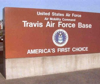 Travis AFB California