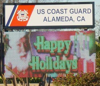 ISC Alameda Coast Guard Base in Alameda, CA