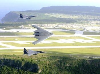 Andersen Air Force Base in Yigo, Guam