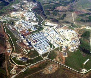 Camp Bondsteel Army Base in Ferizaj, Kosovo