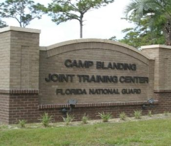 Camp Blanding Army Base in Starke, FL