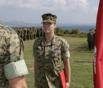 Camp Courtney Marine Corps Base in Uruma, Japan