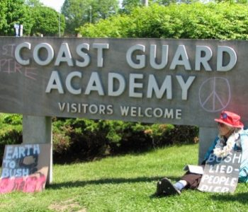 Coast Guard Academy in New London, CT