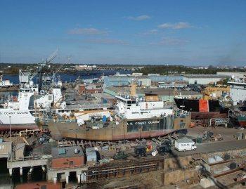 Coast Guard Yard in Baltimore, MD
