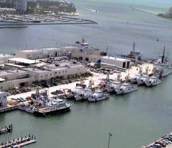 District 7 Coast Guard Base in Miami, FL