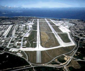 Kadena Air Force Base in Okinawa, Japan