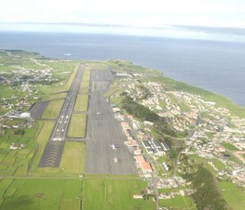 Lajes Field Air Force Base in Lajes, PORTUGAL