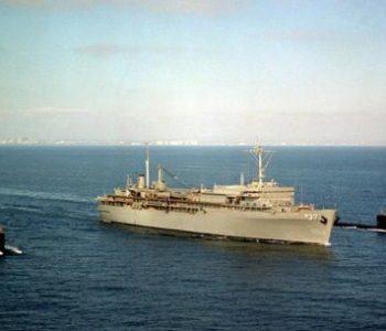 NSA La Maddalena Navy Base in La Maddalena, Italy