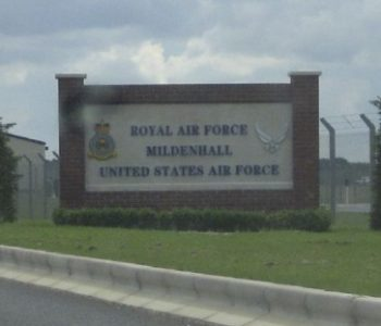 RAF Mildenhall Air Force in Mildenhall, United Kingdom