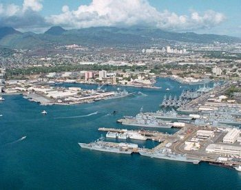 NS Pearl Harbor Navy Base in Oahu, HI