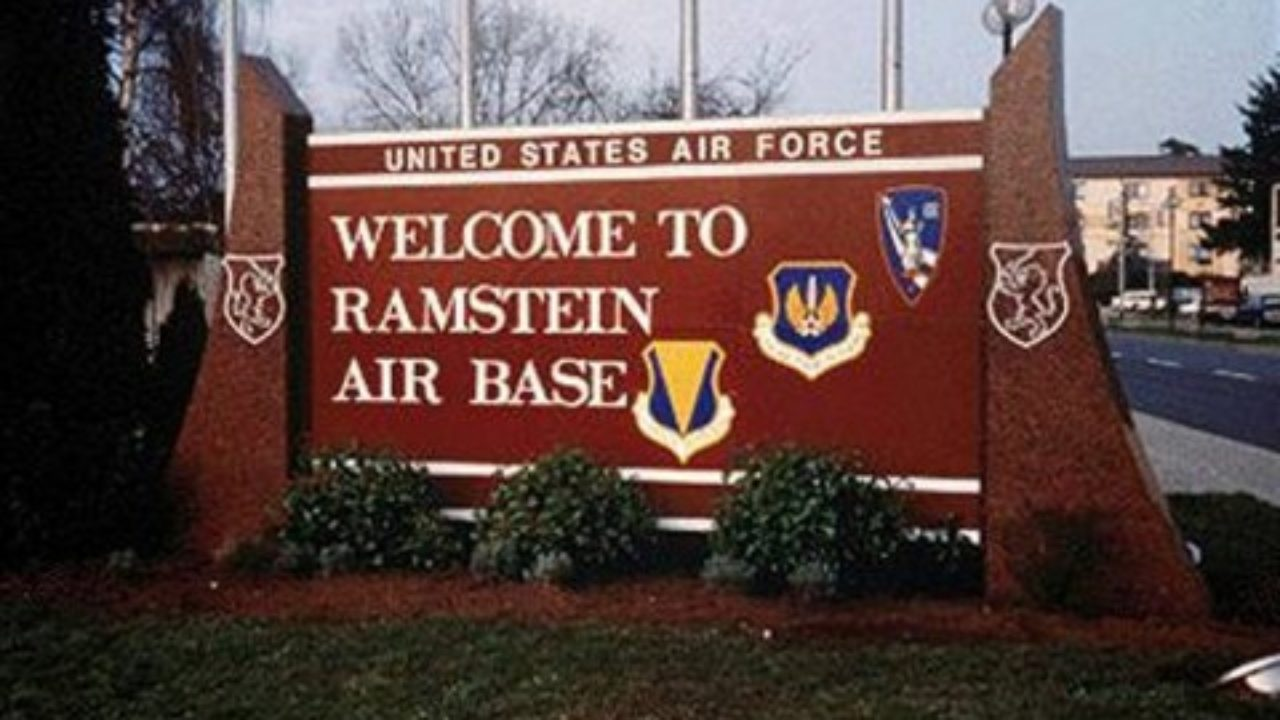 Ramstein Air Force Base in Kaiserslautern, Germany