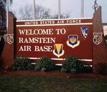Ramstein Air Force Base in Kaiserslautern, Germany