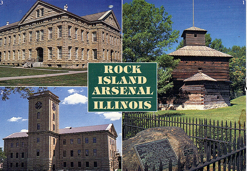 Moline Gate Rock Island Arsenal