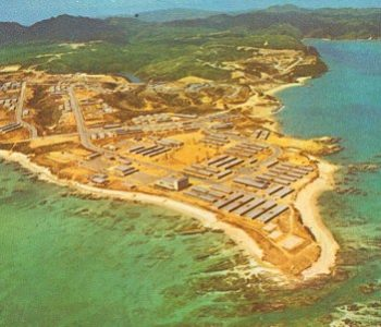 Camp Schwab Marine Corps Base in Okinawa, Japan