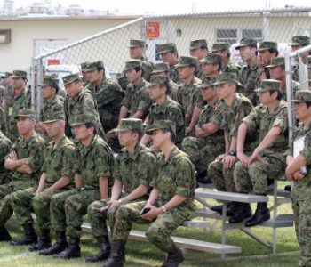 Camp SD Butler Marine Corps Base in Okinawa, Japan