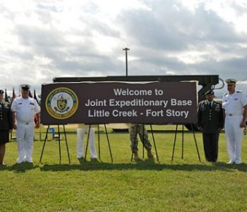 Joint Expeditionary Fort Story Naval Base Little Creek, VA