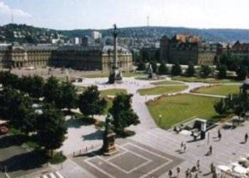 USAG Stuttgart Army Base in Stuttgart, Germany