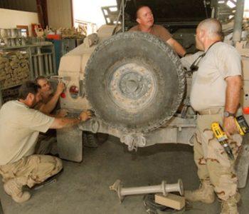 Tobyhanna Army Depot Base in Tobyhanna, PA