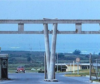 Torii Station Army Base in Okinawa, Japan