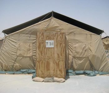 Camp Virginia Army Base in Al Jahra, Kuwait